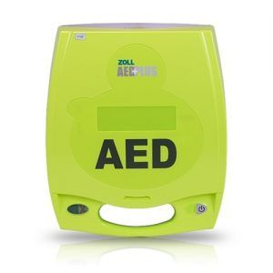Imagen de desfibrilador Zoll AED Plus por Espeva