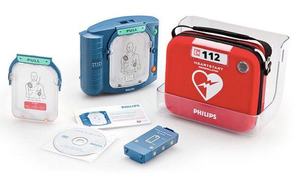 Imagen de desfibrilador Philips HS1 por Espeva